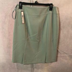 Tahiti S. Levine Pencil Skirt Size 6 color Green